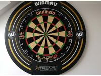 Dart board & accessories