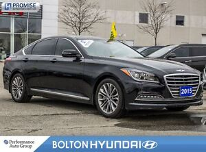 2015 Hyundai Genesis Luxury|28614 KM|Off Lease|Leather|PanoRoof|