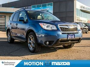 2016 Subaru Forester 2.5i LTD Pano-roof Leather Navi