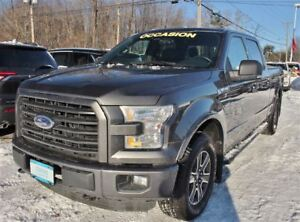 2015 Ford F-150 SUPERCREW XLT 4X4 *V8 5.0L* + SIEGES CHAUFFANTS