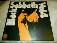 1972 rare Black Sabbath Vol.4 vertigo