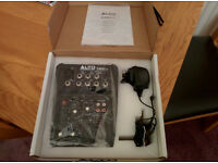 Alto ZMX52 mixer - mint condition, boxed.