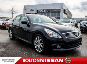 2012 Infiniti G37X Sport (A7) | BOSE | LEATHER | SUNROOF