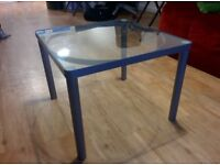 Free Ikea glass coffee table (in good condition)
