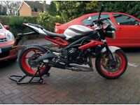 Triumph Street Triple RX with £1400 EXTRAS