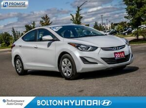 2016 Hyundai Elantra L. Power Windows. CD/USB/MP3. Power Locks