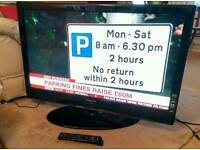 "Samsung 42"" 42 Inch 1080P HD TV with built in Freeview"