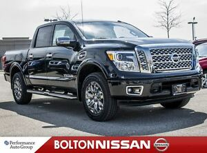 2017 Nissan Titan PLATINUM, LEATHER,NAVIGATION