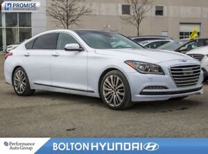 2015 Hyundai Genesis 5.0 Ultimate. Off Lease. NAVI. Leather. Pan