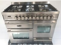 BRITANNIA DELPHI XG RANGE COOKER AS NEW RRP £3800.00