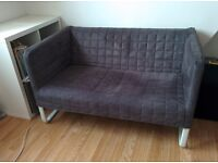 IKEA KNOPPARP grey 2 seater sofa - excellent condition
