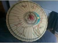 Japenese bamboo umbrella