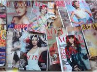 WOMEN FASHION MAGAZINES VOGUE,BAZAAR,HOMES&GARDEN 2013-2009 16x
