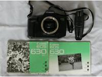 Canon EOS630 SLR Film Camera with Manuals
