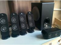 Logitech Speakers 5.1 X-530