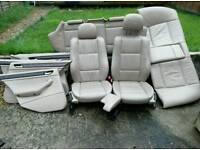 BMW E46 (3 series) saloon FULL leather interior