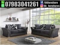 **25% off**BRAND NEW FEBRIC SHANNON 3+2 seater sofa corner sofa