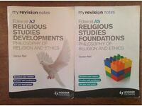 Edexcel - Religious Studies Developments AS & A2 - Philosophy of Religion & Ethics