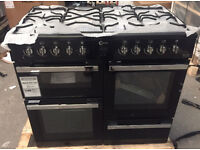 Flavel Milano MLN10FRK Dual Fuel Range Cooker 100cm Wide (New) Delivery Available