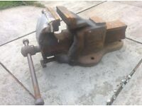 Large Engineering/Mechanics Woden 190/7 Vice