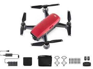 DJI Spark Palm Launch, Intelligent Fly More Combo (Lava Red)