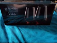 6 Stemless Red Wine Glasses - Maxwell & Williams