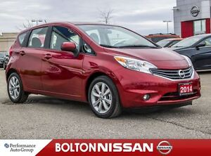2014 Nissan Versa Note 1.6 SL|Bluetooth|Heated Seats|LOW KM!