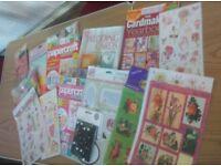 card making materials paper crafting