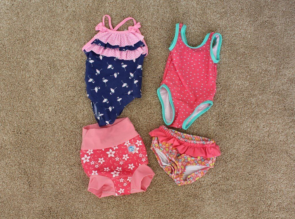 6850ae5f9ff17 Baby Girl Swimwear 3-6 Months (Some Brand New) Splash About (Swimsuit,  Swimming Pants, Trunks)
