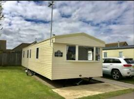 ABI HORIZON static caravan sited in Hopton Holiday Village in Norfolk