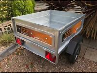 Erde 122.2 Camping, Utility Trailer. Tipping *NEW*