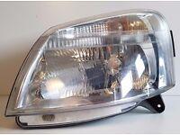 Headlight Citroen Berlingo, Near Side 2002-2008 Free Delivery