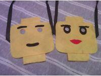 LEGO face masks