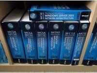 MCSE/MCSA Microsoft IT Certification books