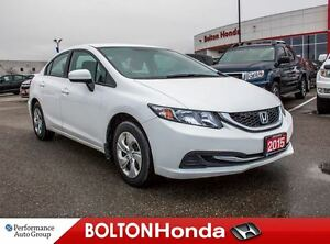 2015 Honda Civic LX|Heated Seats|Bluetooth