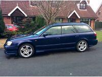 1999 Subaru Legacy GT (Blue) Import