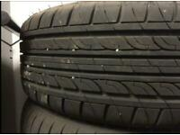 205/55/16 new tyre fitted on Ford Focus steel rim spare wheel