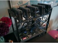 5x Sapphire Nitro+ RX470 4GB mining cards 145Mh/s