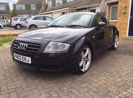 **AUDI TT - (comes with 12 month MOT)