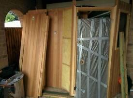 Swedish 4 man sauna