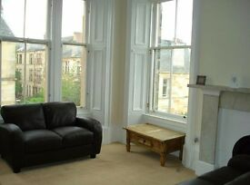 Double Bedroom Available In Spacious West End Flat (rent includes council tax)