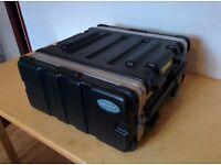SKB 4U Rack Flight Case - Excellent condition