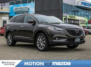 2015 Mazda CX-9 GT Leather Roof+ Snows on Alloys