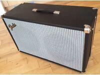 'Fender' 2 x 12 Custom Pine Guitar Cab (8 Ohm) with Original 70s Fender Speakers