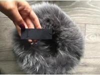 Designer fox fur hat from Harrods brand new rrp £400