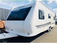 Hobby caravan 645 vip (2011) fendt/tabbert