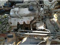 Mazda T3500 3.5 diesel engine and gearbox for MAZDA T3500 truck.