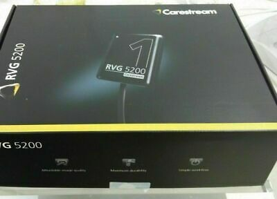 Rvg 5200 Carestream Kodak Digital X-ray Sensor For Dental X-ray Size 1