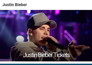 JUSTIN BIEBER SYDNEY CONCERT - 2 x A RESERVE TICKETS Chatswood Willoughby Area Preview