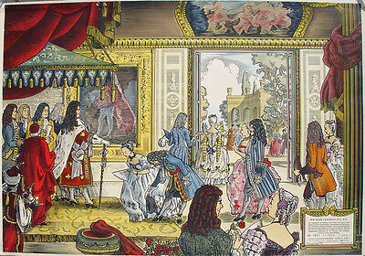 Ludwig XIV Sonnenkönig Louis XIV Versailles Kostüm Absolutismus Fächer Perücke